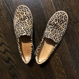 Sperry Gold Cup Cheetah Sneakers